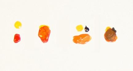Customizing star wars minis 2 - Melange de couleur pour obtenir du beige ...